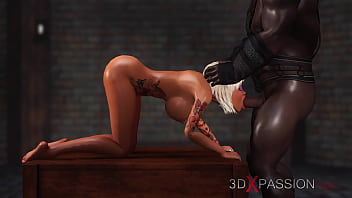 3dxpassion.com._Schoolgirl_get_fucked_hard_by_black_man_in_the_dungeon
